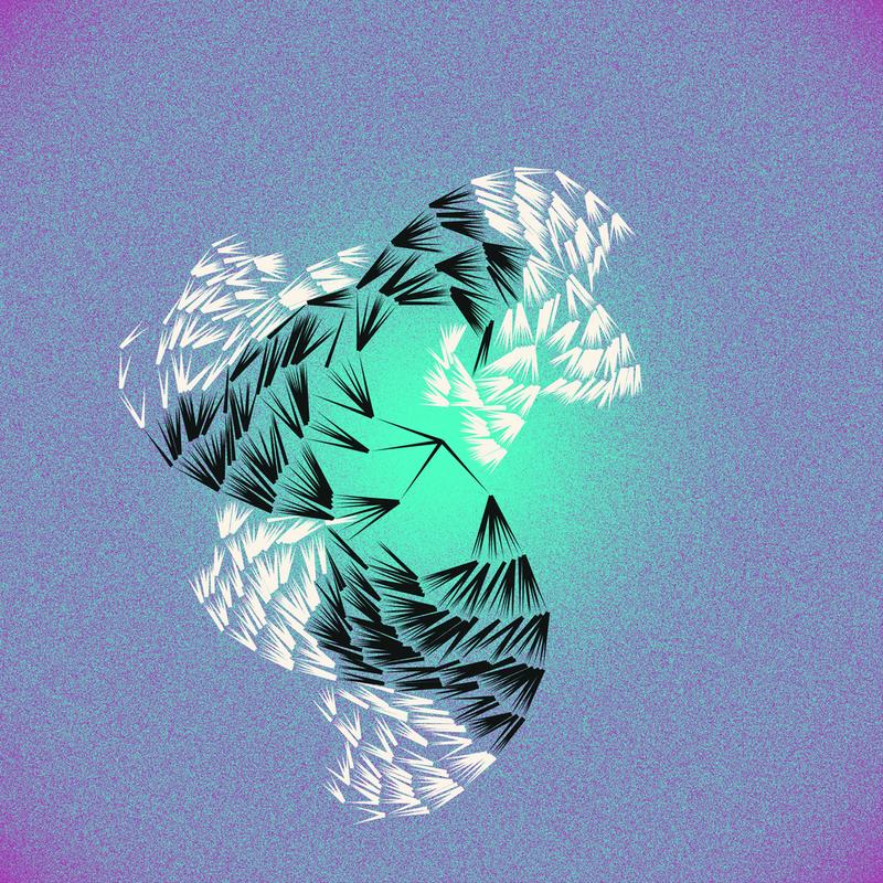Objkt 19046: 3600x3600 Generative art written in Java with Processing, by @__orderandchaos. 1 of 3